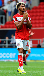 Lloyd Kelly of Bristol City cuts a dejected figure at the final whistle - Mandatory by-line: Nizaam Jones/JMP- 18/08/2018 - FOOTBALL - Ashton Gate Stadium - Bristol, England - Bristol City v Middlesbrough - Sky Bet Championship