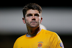 Scott Flinders of Hartlepool United looks on - Photo mandatory by-line: Rogan Thomson/JMP - 07966 386802 - 05/12/2014 - SPORT - FOOTBALL - Hartlepool, England - Victoria Park - Hartlepool United v Blyth Spartans - FA Cup Second Round Proper.