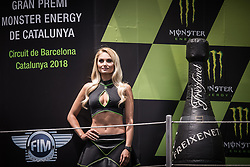 June 17, 2018 - Barcelone, Espagne - GRID GIRL (Credit Image: © Panoramic via ZUMA Press)