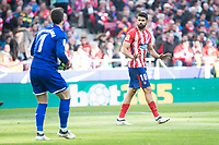 Atletico de Madrid Diego Costa and Athletic Club Arrizabalaga during La Liga match between Atletico de Madrid and Athletic Club and Wanda Metropolitano in Madrid , Spain. February 18, 2018. (ALTERPHOTOS/Borja B.Hojas)
