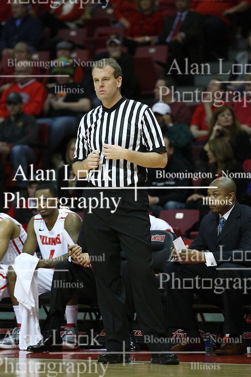 05 January 2013:  Randy Heimerman during an NCAA Missouri Valley Conference (MVC) mens basketball game between the Northern Iowa Panthers and the Illinois State Redbirds in Redbird Arena, Normal IL