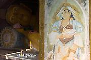 The Image house.<br /> Kumarakanda Buddhist Temple. Dodanduwa.