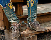 Boots,spurs, and chaps