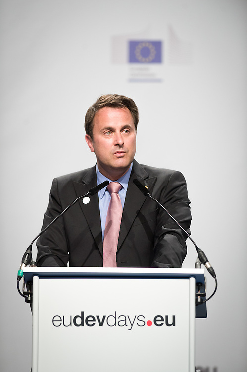 03 June 2015 - Belgium - Brussels - European Development Days - EDD - Opening Ceremony - Our World , our dignity , our future - Xavier Bettel , Prime Minister of Luxembourg © European Union