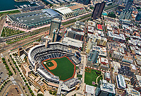 San Diego Convention Centre (top) & PETCO Park
