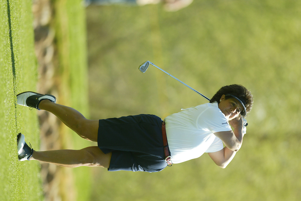 Nancy Lopez..LPGA Welch's Fry's Championship.Second Round.Dell Urich Course at Randolph Park.Tucson, AZ.Friday, March 12 2004..photograph by Darren Carroll
