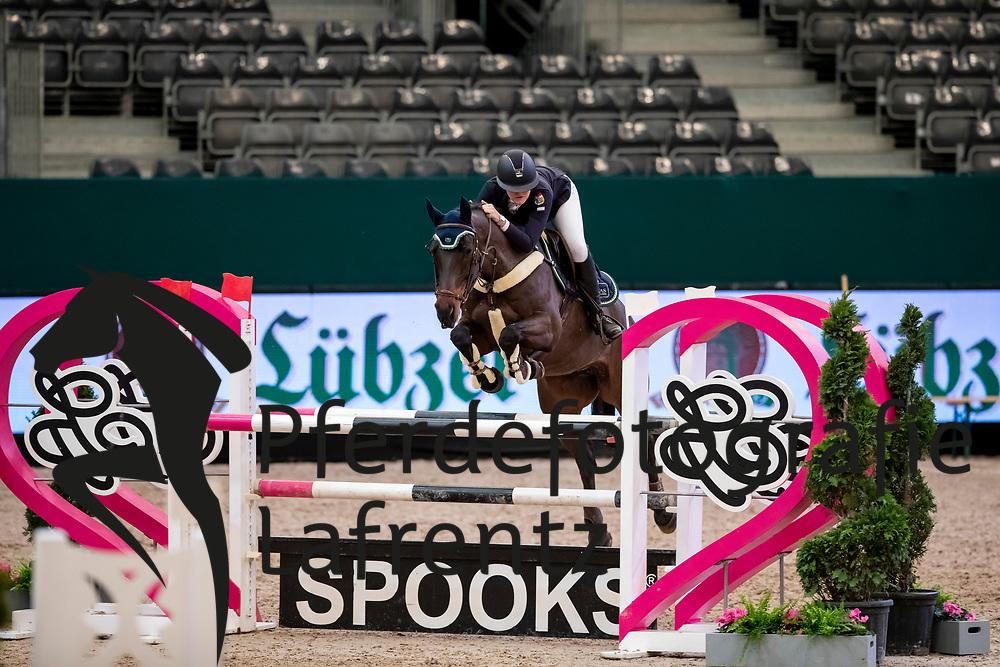 SEIDL Ann-Sophie (GER), Briana BS<br /> Leipzig - Partner Pferd 2019<br /> SPOOKS-Amateur Trophy<br /> Medium Tour<br /> 18. Januar 2019<br /> © www.sportfotos-lafrentz.de/Stefan Lafrentz