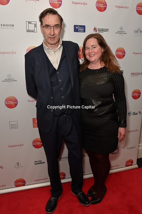 David Somerset,BFI Southbank attends the UK Asian Film Festival closing flame awards gala - Red Carpet at BAFTA 195 Piccadilly, on 7 April 2019, London, UK