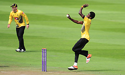 Jofra Archer of Sussex celebrates in action.    - Mandatory by-line: Alex Davidson/JMP - 30/07/2016 - CRICKET - Cooper Associates County Ground - Taunton, United Kingdom - Somerset v Sussex - Royal London One Day