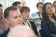 22/09/2014 Repro free  Staff pictured at a visit of Maire Geoghegan-Quinn , European Commissioner for research Innovation and science to Teagasc, Athenry, Co. Galway <br /> . Photo:Andrew Downes