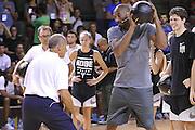 Kobe Bryant - Clinic con Kobe Bryant e Ettore Messina, mamba mentality tour 2016, 22/07/2016, Milano. Foto Fip/Ciamillo