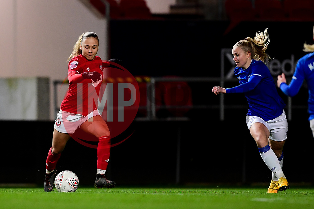 Ebony Salmon of Bristol City - Mandatory by-line: Ryan Hiscott/JMP - 17/02/2020 - FOOTBALL - Ashton Gate Stadium - Bristol, England - Bristol City Women v Everton Women - Women's FA Cup fifth round