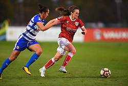 Chloe Arthur of Bristol City Women in action against Reading FC Women - Mandatory by-line: Paul Knight/JMP - 28/10/2017 - FOOTBALL - Stoke Gifford Stadium - Bristol, England - Bristol City Women v Reading Women - FA Women's Super League