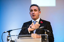 Pictured: Alex Cole-Hamilton, MSP.<br /> The Scottish Liberal Democrats stalwarts gathered today in Dunfermline for their Autumn Conference<br /> <br /> Ger Harley   EEm 11 November 2017