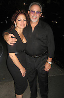 Gloria and Emilo Estefan.Waverly Inn Restaurant.New York City, NY, USA .Tuesday, September 25, 2007.Photo By Selma Fonseca/ Celebrityvibe.com.To license this image call (212) 410 5354 or;.Email: celebrityvibe@gmail.com; .