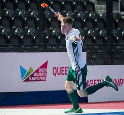 Will Heywood scores for Canterbury. Canterbury v Sevenoaks - Men's Hockey League Finals, Lee Valley Hockey & Tennis Centre, London, UK on 23 April 2017. Photo: Simon Parker
