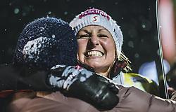 08.01.2019, Bucheben Piste, Bad Gastein, AUT, FIS Weltcup Snowboard, Parallelslalom, Damen, Siegerehrung, im Bild Siegerin Riegler Claudia (AUT) // Winner Riegler Claudia of Austria during the winner ceremony of the women's parallel Slalom of the FIS Snowboard Worldcup at the Bucheben Piste in Bad Gastein, Austria on 2019/01/08. EXPA Pictures © 2019, PhotoCredit: EXPA/ JFK