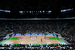 Arena Stozice during Euroleague Top 16 basketball match between KK Union Olimpija Ljubljana (SLO) and FC Regal Barcelona (ESP) in Group F, on January 27, 2011 in Arena Stozice, Ljubljana, Slovenia. Barcelona defeated Olimpija 68-67. (Photo By Vid Ponikvar / Sportida.com)