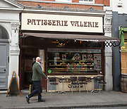 "Patisserie Valerie in Old Compton Street, London, Great Britain <br /> 12th October 2018 <br /> Chris Marsh, finance director was arrested 11th October 2018 and then released on bail.<br /> <br /> The cafe chain is fighting for survival after revealing it had uncovered ""significant, and potentially fraudulent, accounting irregularities"".<br /> <br /> Mr Marsh had been suspended when these problems were discovered.<br /> <br /> The Serious Fraud Office said it had ""opened a criminal investigation into an individual"".<br /> <br /> The firm said it needed ""an immediate injection of capital"" to continue trading in its current form.<br /> <br /> In a brief announcement to the stock market, Patisserie Holdings - the owner of the cafe chain - said: ""The company has been made aware that Chris Marsh, who is currently suspended from his role as company finance director, was arrested by the police last night and has been released on bail. Further updates will be released in due course as appropriate"".<br /> <br /> Photograph by Elliott Franks"