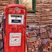 Sinclair Gasoline Pump - Eldorado Canyon - Nelson NV - HDR