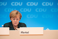 09 DEC 2014, KOELN/GERMANY:<br /> Angela Merkel, CDU, Bundeskanzlerin, CDU Bundesparteitag, Messe Koeln<br /> IMAGE: 20141209-01-153<br /> KEYWORDS: Party Congress