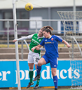 18/02/2018 - Forar Farmington v Hibernian in the SWPL 1 at Station Park, Forfar, Picture by David Young -