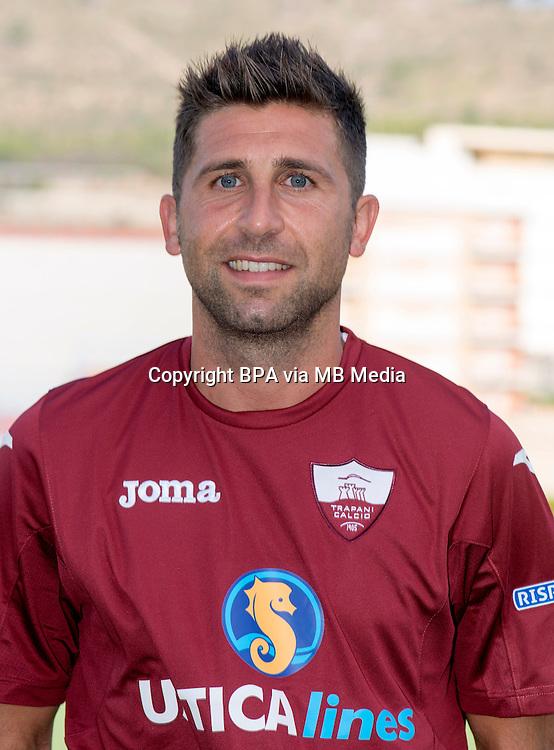 Italian League Serie B_2015-2016 / <br /> ( Trapani Calcio 1905 ) -  <br /> Simone Basso