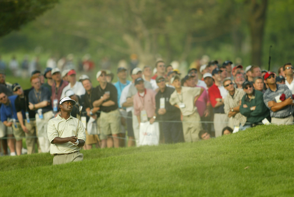 Vijay Singh..2003 U.S. Open..Second Round..Olympia Fields CC..Chicago, IL..Friday June 13 2003..photograph by Darren Carroll