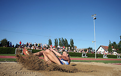 Snezana Rodic at Athletic National Championship of Slovenia, on July 19, 2008, in Stadium Poljane, Maribor, Slovenia. (Photo by Vid Ponikvar / Sportal Images).