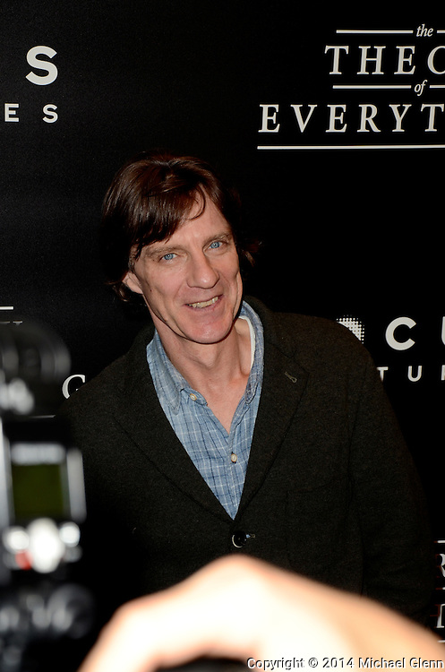 NYC, New York - October 20: James Marsh on the red carpet for their new motion picture The Theory of Everything at Museum of Modern Art MOMA on October 20, 2014 in New York, New York. Photo Credit: Michael Glenn / Retna Ltd