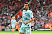 Pedro (11) of Chelsea during the Premier League match between Southampton and Chelsea at the St Mary's Stadium, Southampton, England on 7 October 2018.