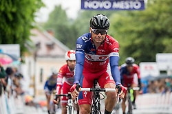 Jure Golcer of Adria Mobil during Stage 4 of 23rd Tour of Slovenia 2016 / Tour de Slovenie from Rogaska Slatina to Novo mesto (165,5 km) cycling race on June 19, 2016 in Slovenia. Photo by Vid Ponikvar / Sportida