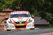 Gordon Shedden during the Dunlop MSA British Touring Car Championship at Oulton Park, Budworth, Cheshire, United Kingdom on 7th June 2015. Photo by Aaron Lupton.