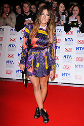 Caroline Flack at the National Television Awards held in London on Wednesday, 25th January 2012. Photo by: i-Images