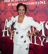 2019, December 01. Pathe ArenA, Amsterdam, the Netherlands. Lenette van Dongen at the dutch premiere of The Addams Family.