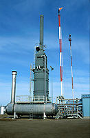 Atco Golden Spike gas processing plant   Photo: Peter Llewellyn