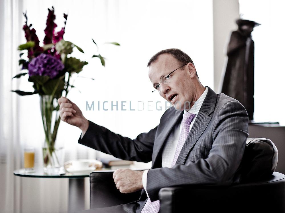 Klaas Knot, president-directeur van De Nederlandse Bank in Amsterdam