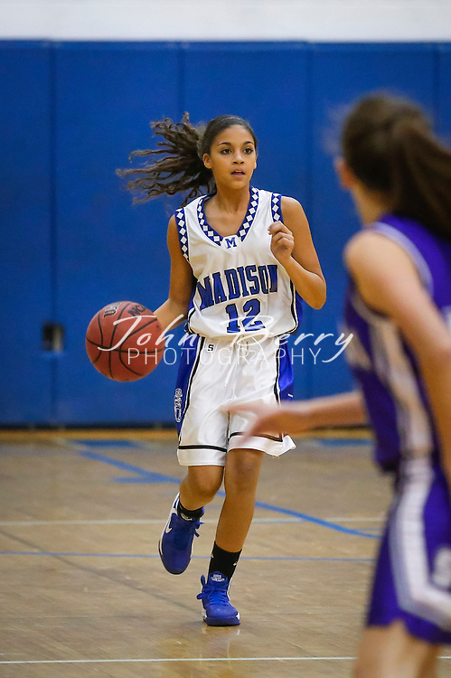 December 10, 2014.  <br /> MCHS JV Girls Basketball vs Strasburg.