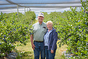 Mark and Jeannie Stephens, owners of Cowiche Creek Farm and Nursery
