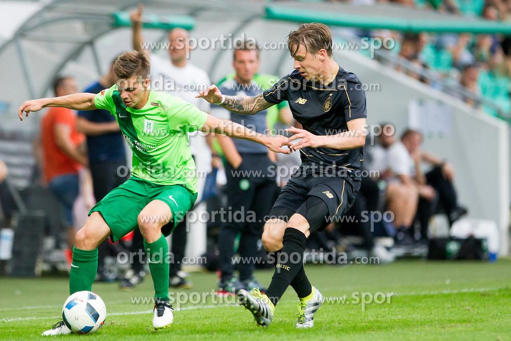 during International friendly football match between NK Olimpija Ljubljana (SLO) and Celtic FC (SCO), on July 6, 2016 in SRC Stozice, Ljubljana, Slovenia. Photo by Urban Urbanc / Sportida