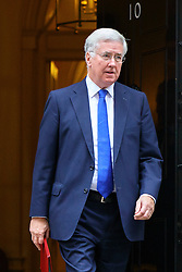 © Licensed to London News Pictures. 15/11/2016. London, UK. Defence Secretary MICHAEL FALLON attends a cabinet meeting in Downing Street on Tuesday, 15 November 2016. Photo credit: Tolga Akmen/LNP