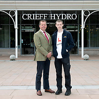 Developing Young Workforce…<br />Stephen Leckie Chief Exec of Crieff Hydro pictured with James<br />for further info contact Alison Lowson at Volpa on 01738 700142 or a.lowson@volpa.co.uk<br />Picture by Graeme Hart.<br />Copyright Perthshire Picture Agency<br />Tel: 01738 623350  Mobile: 07990 594431