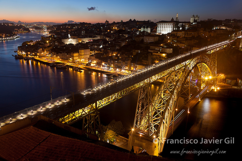 Panoramic of Porto, Portugal