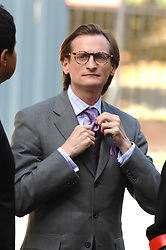 HAMISH BOWLES at the memorial service of Isabella Blow held at the Guards Chapel, London W1 on 18th September 2007.<br /><br />NON EXCLUSIVE - WORLD RIGHTS