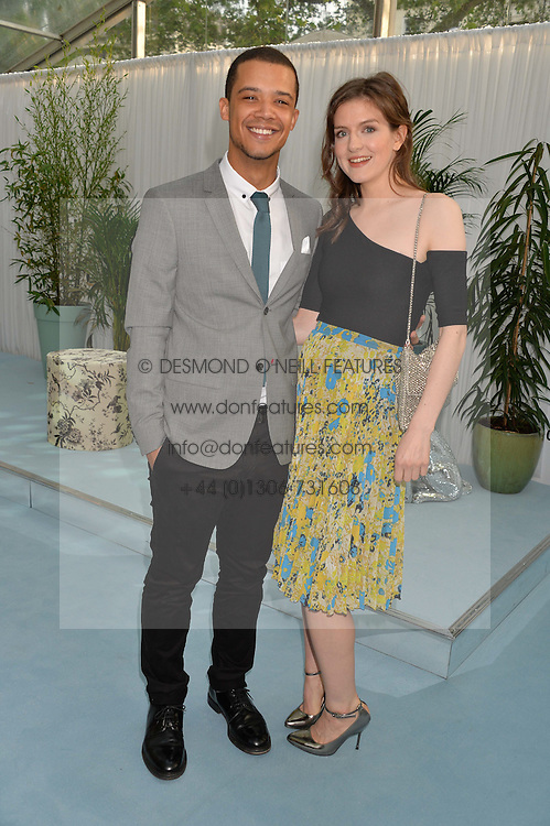 JACOB ANDERSON and AISLING LOFTUS at the Glamour Magazine Women of the Year Awards in association with Next held in the Berkeley Square Gardens, London on 7th June 2016.