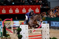 EL DAHAN Sameh (EGY), Championes<br /> Leipzig - Partner Pferd 2018   <br /> Internationale Zeitspringprüfung Preis des Stern Auto Center<br /> © www.sportfotos-lafrentz.de/Stefan Lafrentz
