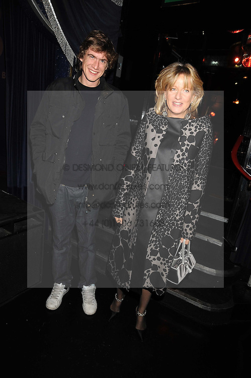 PRINCESS CHANTAL OF HANOVER and HUGO WILSON at a party to celebrate the publication of Cloak & Dagger Butterfly by Amanda Eliasch held at the Soho Revue Bar, London on 17th November 2008.