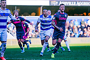 Leeds United defender Liam Cooper (6) during the EFL Sky Bet Championship match between Queens Park Rangers and Leeds United at the Kiyan Prince Foundation Stadium, London, England on 18 January 2020.