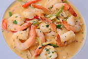 A plate of shrimps