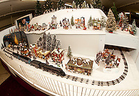 Laconia Antiques Center model train extravaganza open year round December 7, 2011.